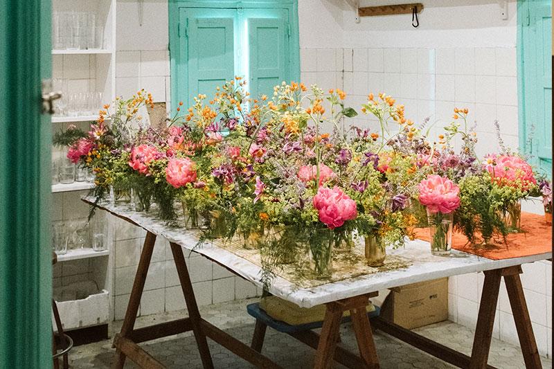 el encanto de las flores