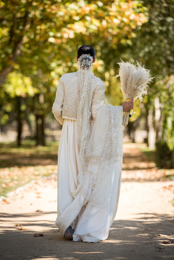 Ines Martin Alcalde, vestido de novia