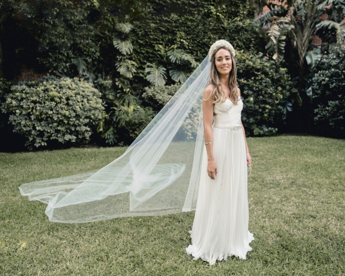 Los vestidos de novia de Laura Sorhuet