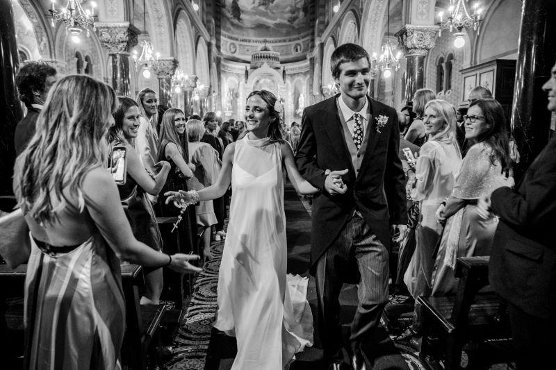 los fotógrafos de bodas unos novios de diciembre