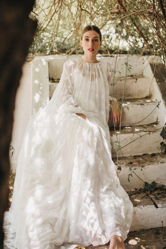 Los vestidos de novia de Cherubina: