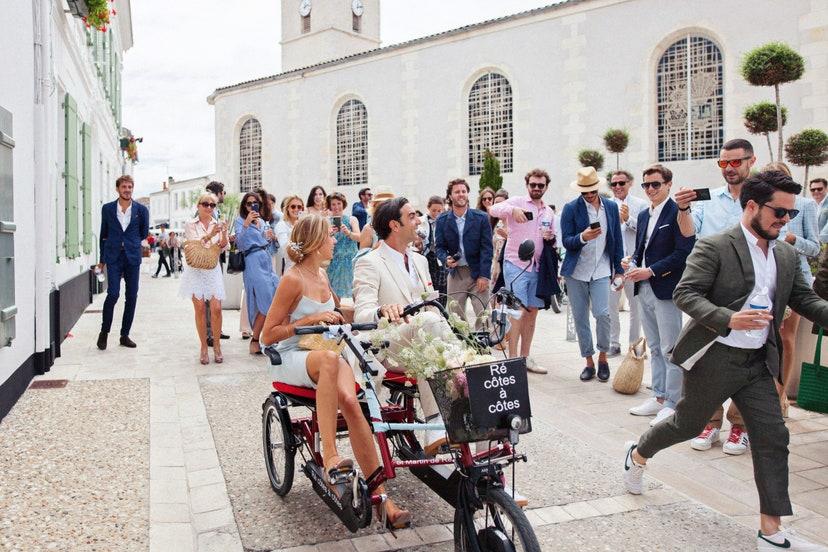 Un casamiento con mucho estilo en la Isla de Ré