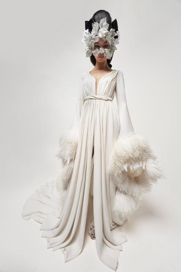 15 Vestidos de novia de los desfiles de alta costura de Paris 2021 giambattista