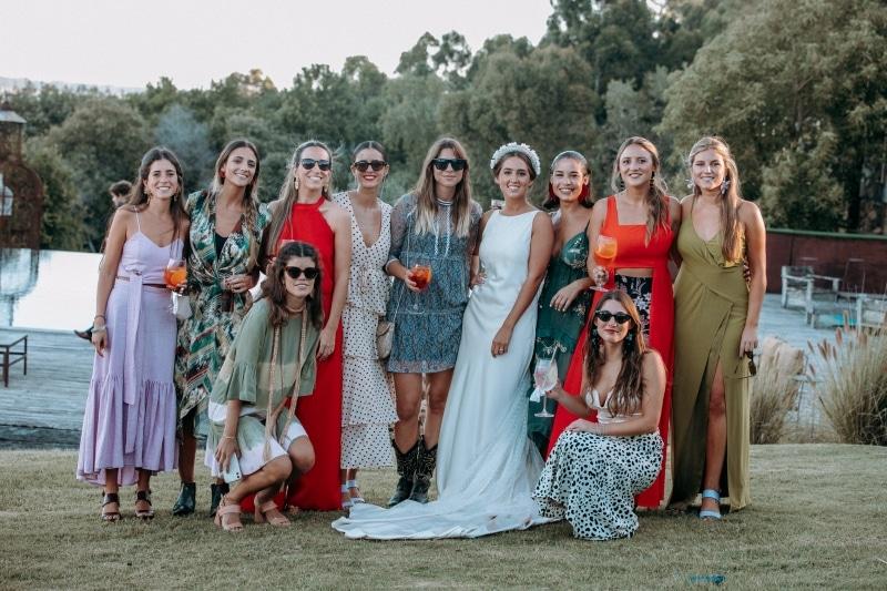 unos novios de marzo casamiento novia