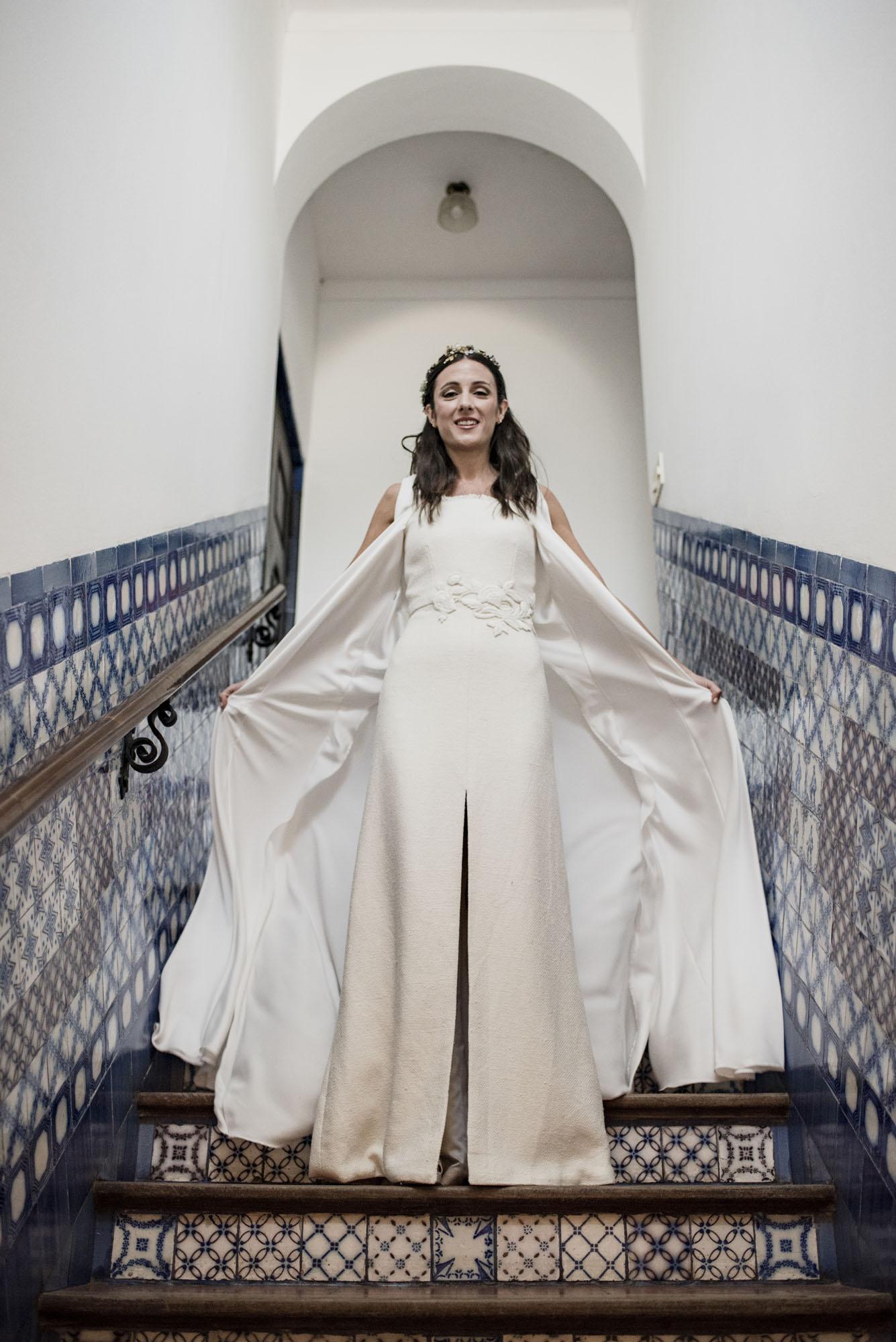 Un casamiento en una estancia argentina vestido de novia Lucrecia Grassi