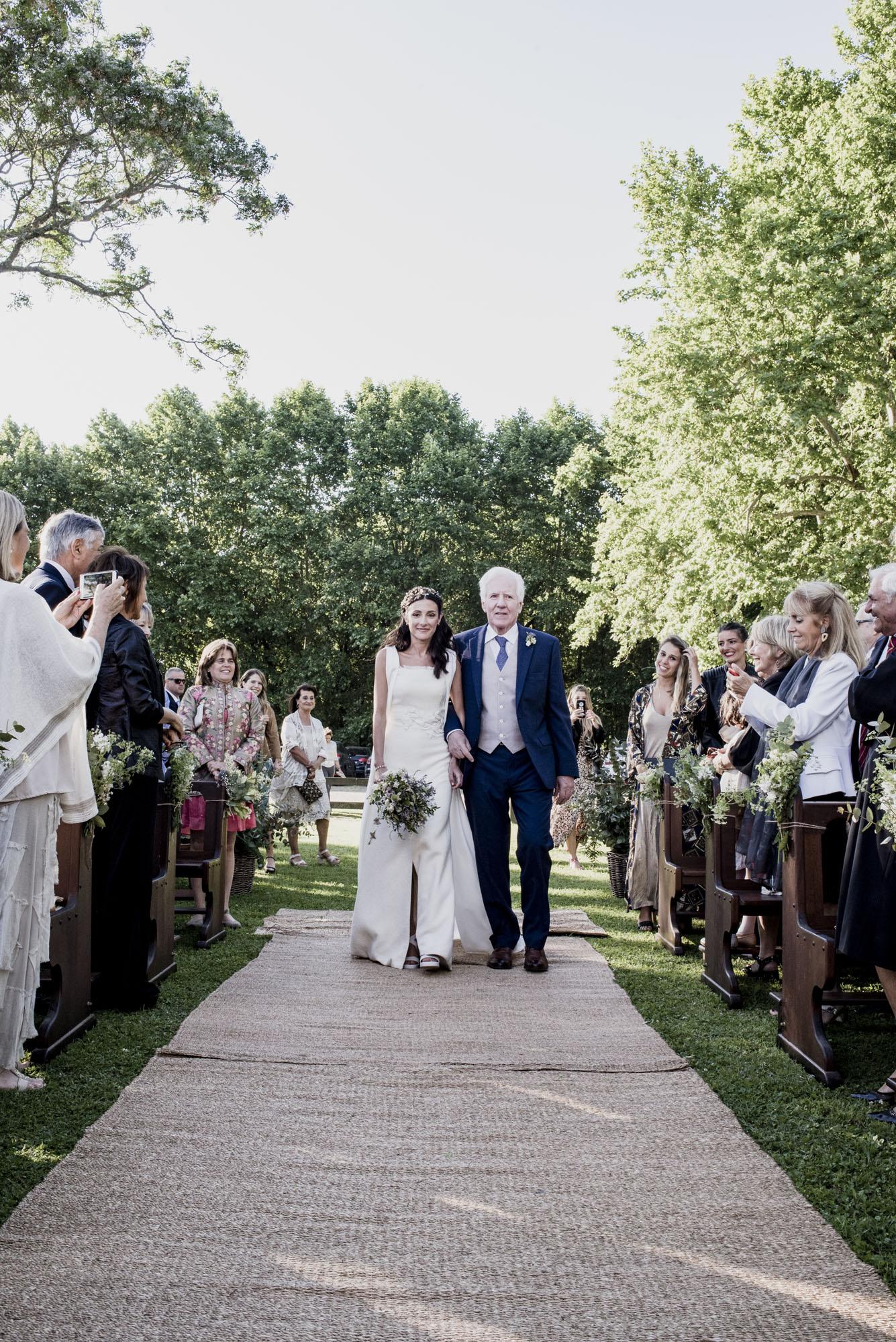 Un casamiento en una estancia argentina