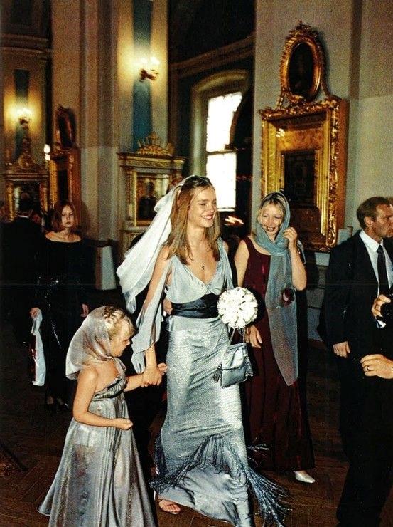 Vestidos de novia de modelos natalia vodianova