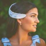 Los tocados de novia de Isabel Navarro